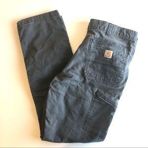 Carhartt Men's Relaxed Fit Cargo Pants Gray 34x34